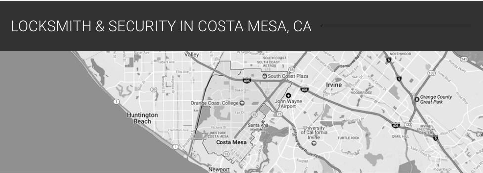 Locksmith Costa Mesa, Road Runner Lock and Key, Locksmith